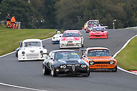 #69 Ian Stapleton Alfa Romeo Alfetta GTV6 3800 during the CSCC Special Saloons and Modsports at Oulton Park, Little Budworth, Cheshire, United Kingdom. October 15 2016. World Copyright Peter Taylor/PSP. <br /> Copy of publication required for printed pictures.  Every used picture is fee-liable. http://archive.petertaylor-photographic.co.uk