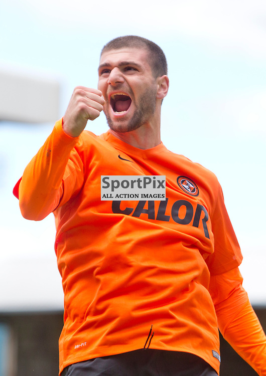 Dundee Utd v Dundee SPFL Premiership Tannadice Park 24 May 2015 <br /> Nadir Cifti celebrates the opening goal<br /> CRAIG BROWN | sportPix.org.uk