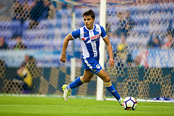 WIGAN, ENGLAND - Friday, July 14, 2017: Wigan Athletic's Reece James during a preseason friendly match against Liverpool at the DW Stadium. (Pic by David Rawcliffe/Propaganda)