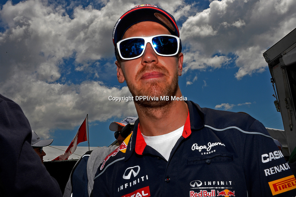 MOTORSPORT - F1 2013 - GRAND PRIX OF CANADA - MONTREAL (CAN) - 07 TO 09/06/2013 - PHOTO ERIC VARGIOLU / DPPI VETTEL SEBASTIAN (GER) - RED BULL RENAULT RB9 - AMBIANCE PORTRAIT