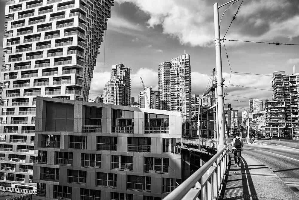 Vancouver House & Vicinity (monochrome)