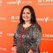 NLD/Amsterdam/20190509 -  Zoe Saldana bij finale van de Chivas Venture, Sonal Shah