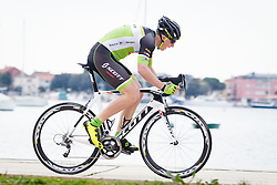 Jernej Svab of Sava during Istrian Spring Trophy on March 10, 2016 in Umag, Croatia. (Photo by Ziga Zupan / Sportida)