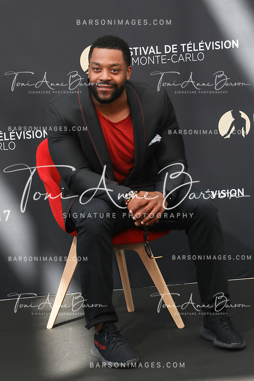 """MONTE-CARLO, MONACO - JUNE 17:  LaRoyce Hawkins attends photocall for """"Chicago PD"""" on June 17, 2017 at the Grimaldi Forum in Monte-Carlo, Monaco.  (Photo by Tony Barson/FilmMagic)"""