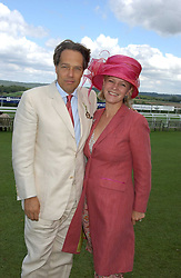 The EARL & COUNTESS OF MARCH & KINRARA at the 4th dfay of the 2005 Glorious Goodwood horseracing festival at Goodwood Racecourse, West Sussex on 29th July 2005.    <br />