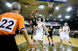 Jamon Lucas of Maroussi at Euroleague basketball match of Group C between KK Union Olimpija, Ljubljana and Maroussi B.C., Athens, on October 29, 2009, in Arena Tivoli, Ljubljana, Slovenia. Olimpija lost 75:81.  (Photo by Vid Ponikvar / Sportida)