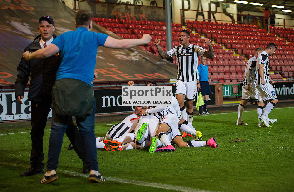 Dunfermline v Dundee, Scottish League Cup, East End Park, 25 August 2015<br />