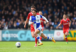 Kyle Bennett of Bristol Rovers - Mandatory by-line: Paul Knight/JMP - 28/04/2018 - FOOTBALL - Memorial Stadium - Bristol, England - Bristol Rovers v Gillingham - Sky Bet League One