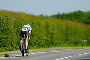 Ben Instone racing the 2009 RTTC ten mile national championship. Berkshire.