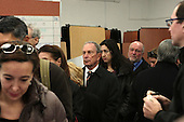 New York City Mayor Michael Bloomberg Votes for President of the United States