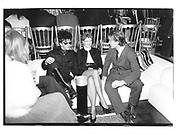 Steve Strange Baroness Francesca von Thyssen at the tammy nuttes shop opening london 4 Oct, 1982© Copyright Photograph by Dafydd Jones 66 Stockwell Park Rd. London SW9 0DA Tel 020 7733 0108 www.dafjones.com