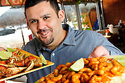 Alejandro Guerra is owner of La Palapa Mariscos in Chicago's McKinley Park neighborhood.