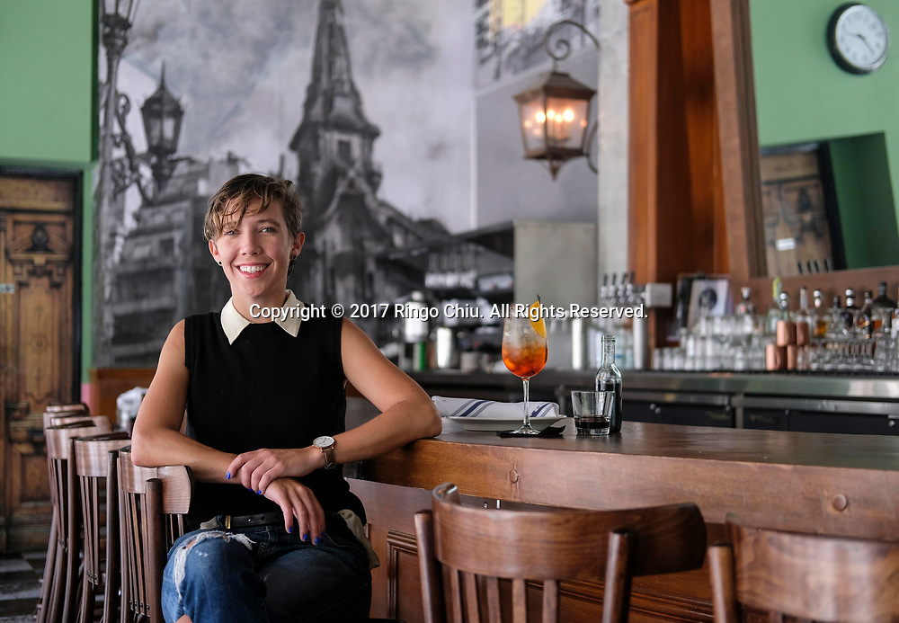 Andrea Borgen, owner of Barcito in downtown Los Angeles.(Photo by Ringo Chiu)<br /> <br /> Usage Notes: This content is intended for editorial use only. For other uses, additional clearances may be required.