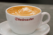 Redroaster coffee shop - best coffee in town, paired with a modern art gallery.