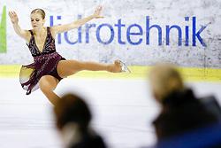 Nicole RAJICOVA of Slovakia at ISU Junior Grand Prix of Figure Skating Ljubljana Cup 2014 on August 29, 2014 in Hala Tivoli, Ljubljana, Slovenia. Photo by Matic Klansek Velej / Sportida
