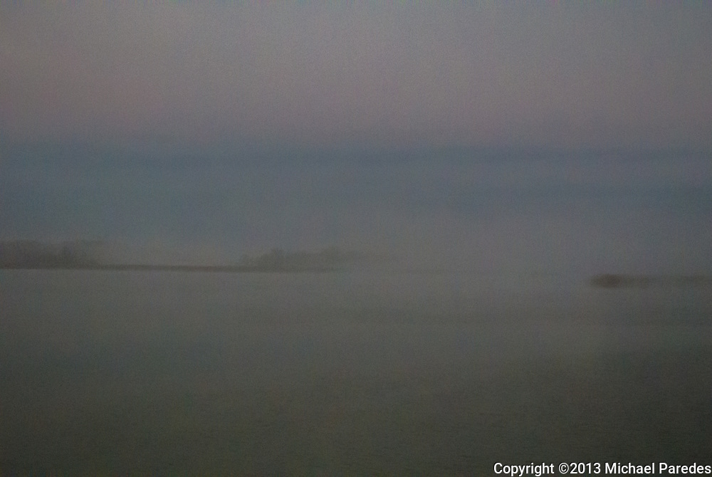 The Susquehanna between Baltimore and Philadelphia, aboard Amtrak, pre-dawn