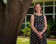 First year principal Abigail Taylor at Sinclair Elementary School, May 13, 2013.