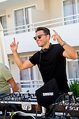Exclusive - Mark Wright parties in magaluf