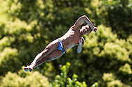 ISHAK Mohab EGY<br /> Bolzano, Italy <br /> 22nd FINA Diving Grand Prix 2016 Trofeo Unipol<br /> Diving<br /> Men's 10m platform preliminaries <br /> Day 02 16-07-2016<br /> Photo Giorgio Perottino/Deepbluemedia/Insidefoto