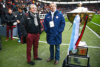 Jacky Lorenzetti / Rene Bouscatel / Trophee de Coubertin - 28.12.2014 - Toulouse / Racing Metro - 14eme journee de Top 14 <br /> Photo :  Manuel Blondeau / Icon Sport