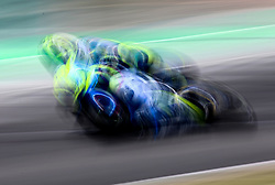 May 23, 2018 - Barcelona, Spain - Alex Rins (Suzuki) during the Moto GP test in the Barcelona Catalunya Circuit, on 23th May 2018 in Barcelona, Spain. (Credit Image: © Joan Valls/NurPhoto via ZUMA Press)