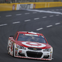 May 28, 2017 - Concord, NC, USA: Kyle Larson (42) battles for position during the Coca Cola 600 at Charlotte Motor Speedway in Concord, NC.