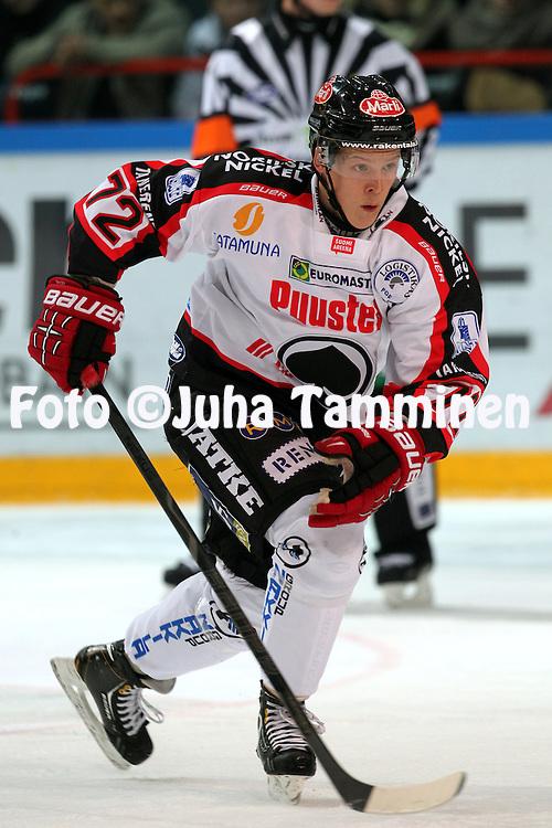 26.10.2012, Helsinki..J??kiekon SM-liiga 2012-13. HIFK - ?ss?t..Severi Sillanp?? - ?ss?t