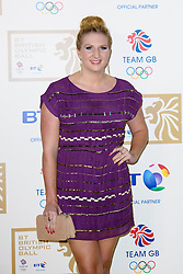 Bronze medallist Rebecca Adlington during the BT Olympic Ball, held at the Grosvenor Hotel, London, UK, November 30, 2012. Photo By Anthony Upton / i-Images.
