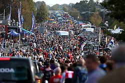 Crowd after finish elite men race during the Men's Elite Road Race at the UCI Road World Championships on September 25, 2011 in Copenhagen, Denmark. (Photo by Marjan Kelner / Sportida Photo Agency)