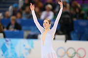 "Carolina Kostner (ITA), <br /> FEBRUARY 19, 2014 - Figure Skating : <br /> Women's Short Program <br /> at ""ICEBERG"" Skating Palace <br /> during the Sochi 2014 Olympic Winter Games in Sochi, Russia. <br /> (Photo by Yohei Osada/AFLO SPORT)"