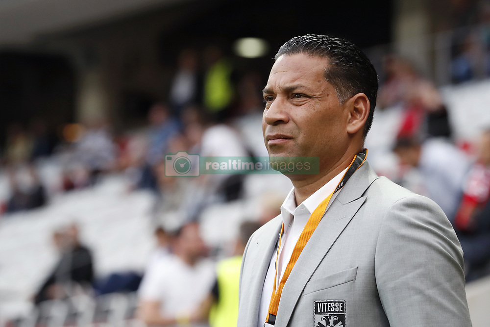 coach Henk Fraser of Vitesse during the UEFA Europa League group K match  match between OGC Nice and Vitesse Arnhem on September 28, 2017 at the Allianz Riviera in Nice, France
