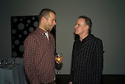 WOLFGANG TILLMAN, Dinner hosted by the Victoria Miro Gallery Serpentine after the opening of the Derek Jarman exhibition curated by isaac Julien. February 2008.  *** Local Caption *** -DO NOT ARCHIVE-© Copyright Photograph by Dafydd Jones. 248 Clapham Rd. London SW9 0PZ. Tel 0207 820 0771. www.dafjones.com.