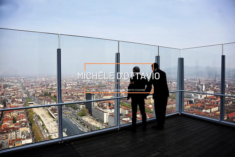 viste panoramiche su Torino dal Grattacielo di Intesa Sanpaolo, 10 aprile 2015