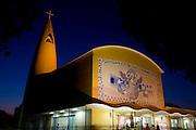 Cataguases_MG, Brasil...Painel de Djanira no Santuario Santa Rita de Cassia em Cataguases, Minas Gerais...Panel Djanira the Santuario Santa Rita de Cassia in Cataguases, Minas Gerais...Foto: LEO DRUMOND / NITRO
