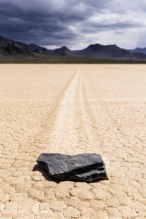 The mysterious moving stones of the Death Valley Racetrack.
