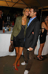 Model JACQUETTA WHEELER and ALEXI LUBONIRSKI at an exclusive evening featuring the greatest talents in fashion today in aid of the African children who have been affected bt the AIDS epidemic held at the Chelsea Gardener, Sydney Street, London on 20th September 2004<br />