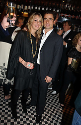 LEO FENWICK and CAMILLA STOPFORD-SACKVILLE at The Christmas Cracker - an evening i aid of the Starlight Children's Charity held at Frankies, Knightsbridge on 13th December 2006.<br /><br />NON EXCLUSIVE - WORLD RIGHTS