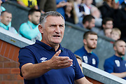 Blackburn Rovers Manager Tony Mowbray during the EFL Sky Bet Championship match between Blackburn Rovers and Brentford at Ewood Park, Blackburn, England on 25 August 2018.