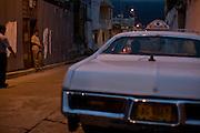 Merida_VEN, Venezuela...Taxi em regiao pobre de Merida, Venezuela...Taxi in poor region of Merida, Venezuela...Foto: JOAO MARCOS ROSA / NITRO
