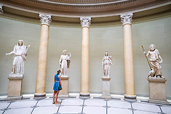 Interior of Altes Museum on Museum Island or Museumsinsel in Berlin Germany