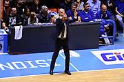 DESCRIZIONE : Brindisi  Lega A 2015-15 Enel Brindisi Dolomiti Energia Trento<br /> GIOCATORE : Maurizio Buscaglia<br /> CATEGORIA : Allenatore Coach  Schema Mani<br /> SQUADRA : Dolomiti Energia Trento<br /> EVENTO : Lega A 2015-2016<br /> GARA :Enel Brindisi Dolomiti Energia Trento<br /> DATA : 25/10/2015<br /> SPORT : Pallacanestro<br /> AUTORE : Agenzia Ciamillo-Castoria/D.Matera<br /> Galleria : Lega Basket A 2015-2016<br /> Fotonotizia : Enel Brindisi Dolomiti Energia Trento<br /> Predefinita :