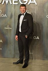 April 26, 2017 - London, London, UK - London, UK. ADAMY PEATY attends the Omega party celebrating 60 Years of the Speedmaster watch. (Credit Image: © Ray Tang/London News Pictures via ZUMA Wire)