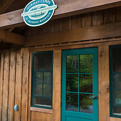 The Appalachian Mountain Club's Gorman Chairback Lodge sits on the shores of Long Pond in Maine's North Woods.