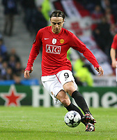 20090415: PORTO, PORTUGAL - FC Porto vs Manchester United: Champions League 2008/2009 – Quarter Finals – 2nd leg. In picture: Berbatov. PHOTO: Manuel Azevedo/CITYFILES