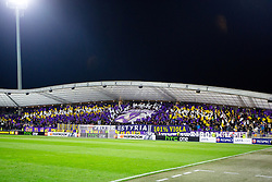 Viole, fans of NK Maribor, during football match between NK Maribor and Sevilla FC (ESP) in 1st Leg of Round of 32 of UEFA Europa League 2014 on February 20, 2014 at Stadium Ljudski vrt, Maribor, Slovenia. Photo by Matic Klansek Velej / Sportida