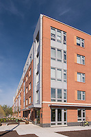 Alexandria VA Exterior Image of Jackson Crossing Apartments by Jeffrey Sauers of Commercial Photographics, Architectural Photo Artistry in Washington DC, Virginia to Florida and PA to New England
