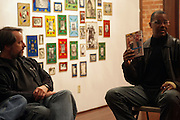 Jamel Shabazz at Artist talk of ' Shoot-Out: Lonely Crusade..An Homage to Jamel Shabazz ' held at The George and Leah McKenna African American Museum of Art on December 12, 2008 in New Orleans, Louisana