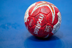 08-12-2019 JAP: Netherlands - Germany, Kumamoto<br /> First match Main Round Group1 at 24th IHF Women's Handball World Championship, Netherlands lost the first match against Germany with 23-25. / Molten ball