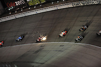 Sparks from Scott Dixon, Indy Car Series