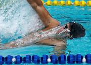 Belo Horizonte_MG, Brasil...Copa do Mundo de Natacao 2007. Na foto o nadador Randall Bal, dos EUA vencedor da prova de 200m costas, em Belo Horizonte...Swimming World Cup 2007. In this photo the swimmer Randall Bal, of USA, He is the champion in the 200m breaststroke, in Belo Horizonte...Foto: LEO DRUMOND / NITRO